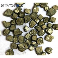 Pyrite Africa Natural Untreat Cubes Rough Stone Specimen 1 Pcs Batu Badar Emas
